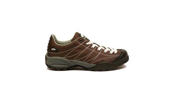 Pánské lehké trekové boty Numero Uno - hnědé