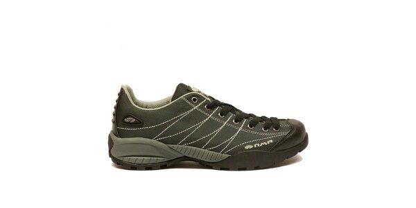 Pánské lehké trekové boty Numero Uno - šedé