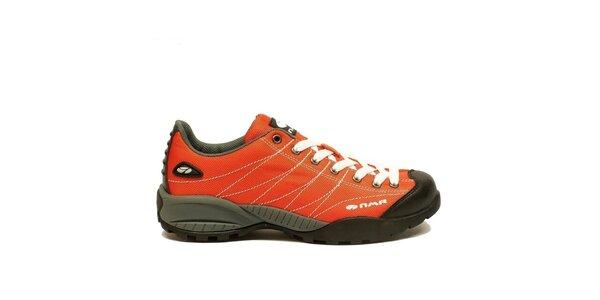 Pánské lehké trekové boty Numero Uno - oranžové