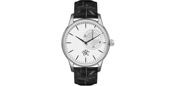 Pánské hodinky Premier s bílým ciferníkem a datumem