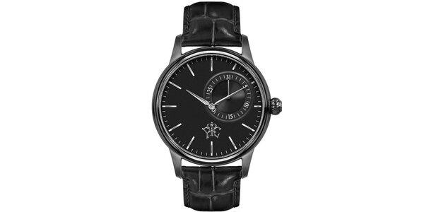 Pánské hodinky Premier černé s datumem