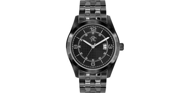 Pánské hodinky v elegantně sportovním stylu Race černé