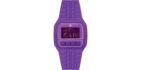 Pánské digitální hodinky Electro fialové