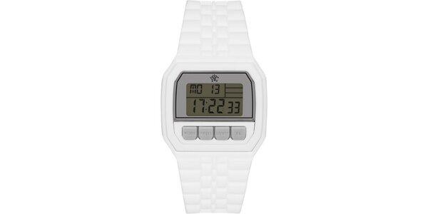Pánské digitální hodinky Electro bílé dfeb453849