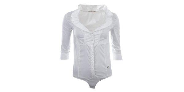 Dámské bílé košilové body Gaudí