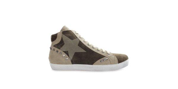 Pánské kotníkové boty se cvočky Gaudí