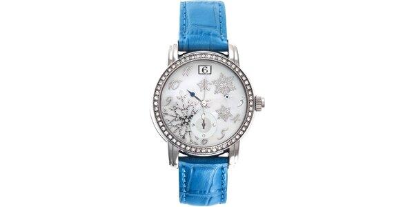 RFS dámské hodinky Russian Winter modré