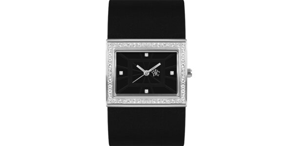 RFS dámské hodinky Labyrinth s černým řemínkem