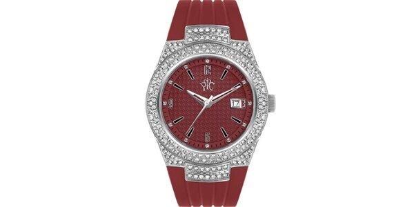RFS dámské hodinky Velvet červené