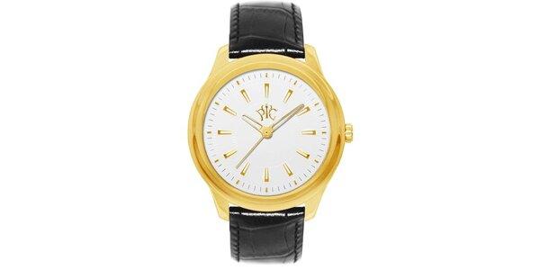 Pánské hodinky Element s ciferníkem zlaté barvy