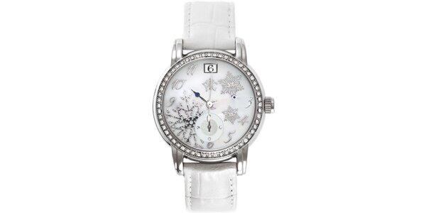 RFS dámské hodinky Russian Winter bílé