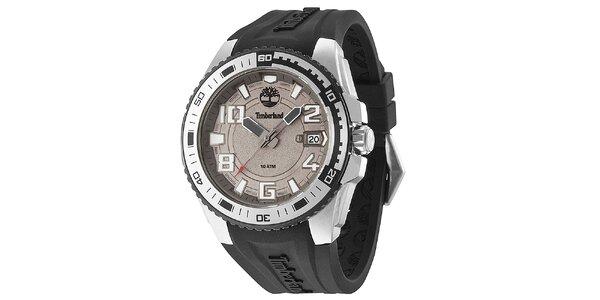 Pánské hodinky s černým řemínkem Timberland