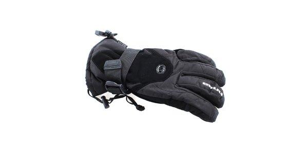 Pánské černé zimní rukavice s ventilací Envy