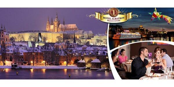 3denní romantika v srdci Prahy pro dva