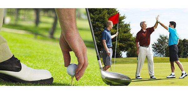 Individuální nebo skupinová lekce golfu s trenérem