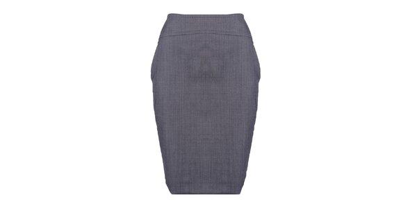 Dámská šedá pouzdrová sukně Pietro Filipi