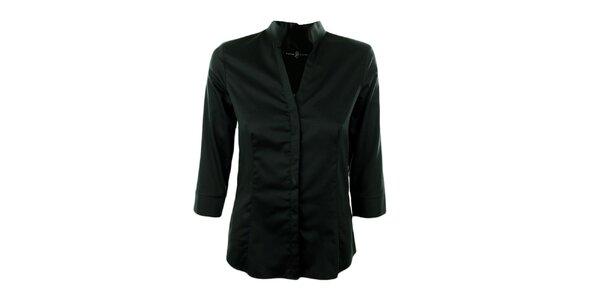 Dámská tmavá bavlněná košile Pietro Filipi