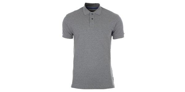 Pánské šedé polo tričko Pietro Filipi