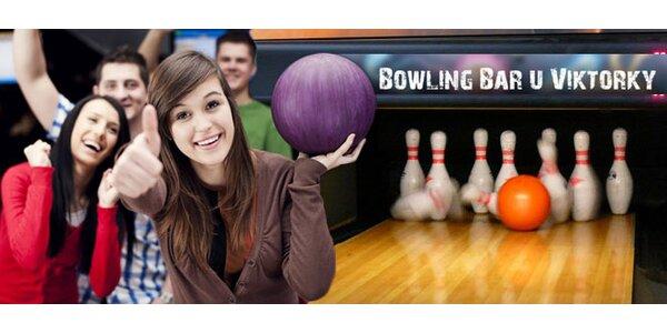 60 min bowlingu v Bowling baru u Viktorky