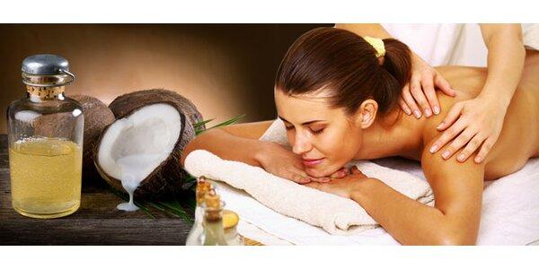 Hodina relaxace při masáži dle výběru
