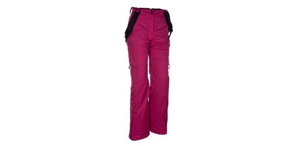 Dámské růžové lyžařské kalhoty Envy