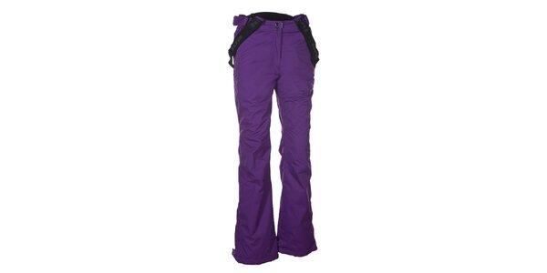 Dámské fialové lyžařské kalhoty Envy