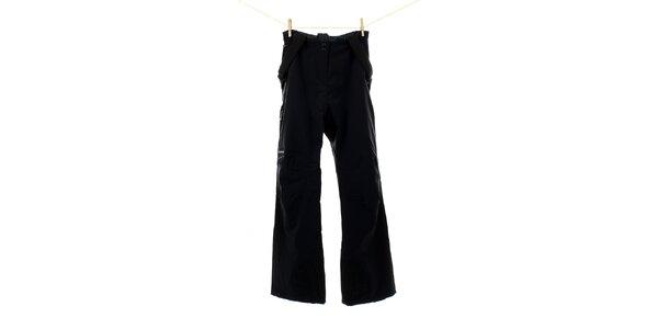 Dámské antracitové lyžářské kalhoty Hannah s odepínacími šlemi