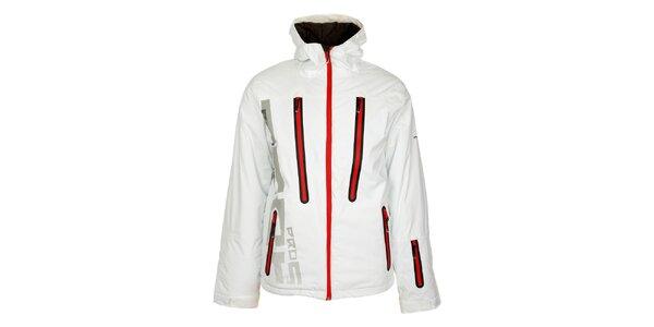 Pánská bílá lyžařská bunda Loap