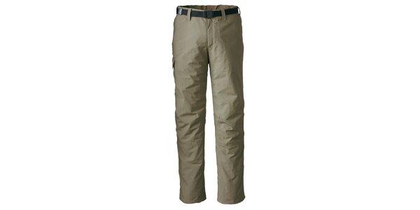 Pánské hnědobéžové funkční kalhoty Maier