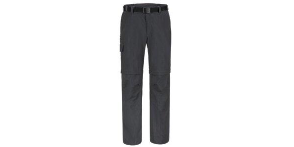 Pánské černé funkční kalhoty Maier
