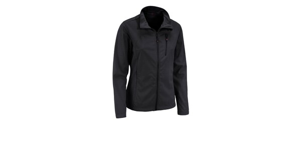 Dámská černá třívrstvá softshellová bunda Maier