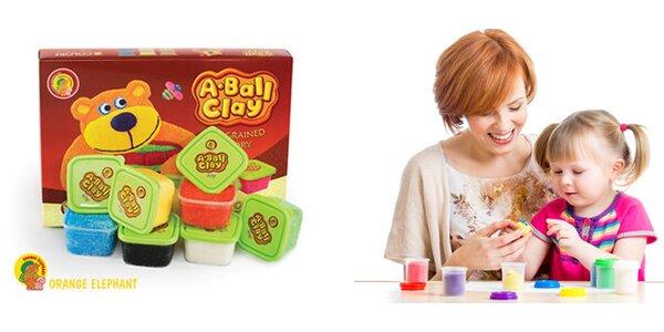 Kuličková modelína A-Ball Clay Medvídek