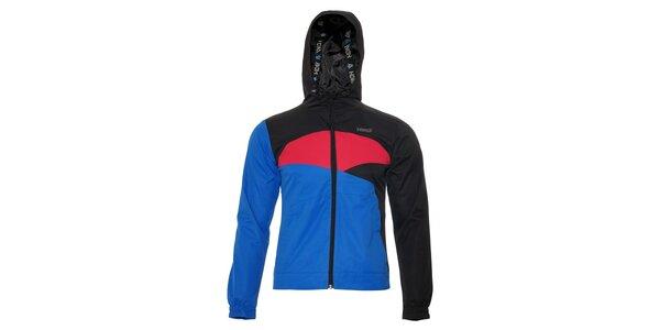 Dámská jarní bunda Humdrum Elis v černorůžové barvě