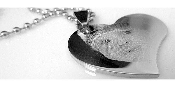 Krásný šperk s vlastní fotografií a 50% slevou