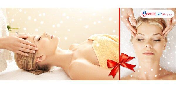 Kosmetická nebo indická antistresová masáž