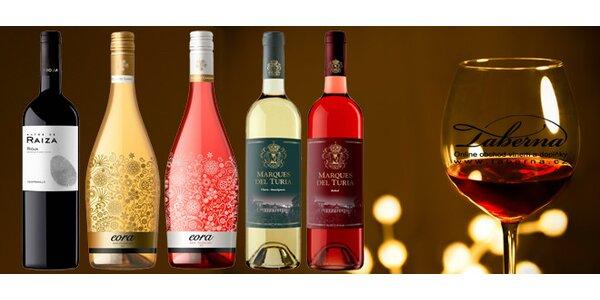 Výběr zajímavých španělských vín - Rioja, elegantní šumivé nebo svěží růžové