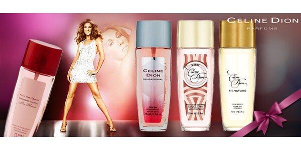 Omamné parfémované deodoranty Celine Dion