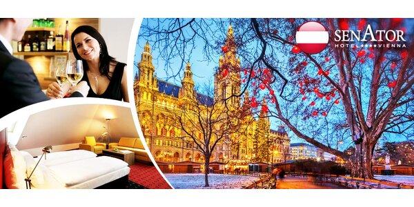 3 dny v předvánoční Vídni pro dva ve 4* hotelu Senator
