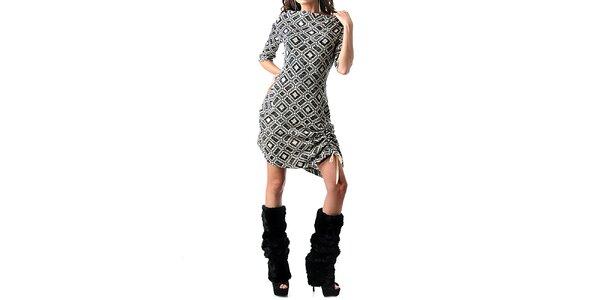 Dámské kostkované šaty Female Fashion