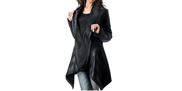 Dámský koženkový kabátek Female Fashion