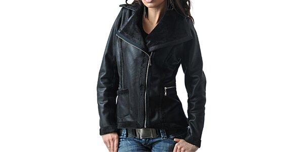 Dámská černá bunda Female Fashion