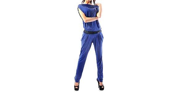 Dámský modrý overal Female Fashion