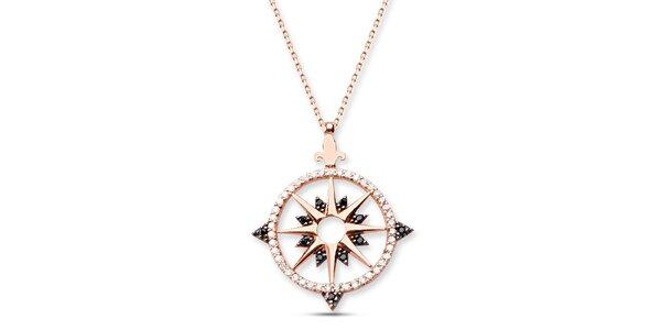 Dámský stříbrný náhrdelník s hvězdičkou Elite Goby