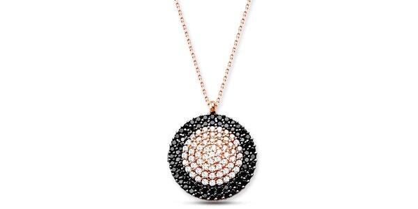 Dámský stříbrný náhrdelník s kolečkem Elite Goby