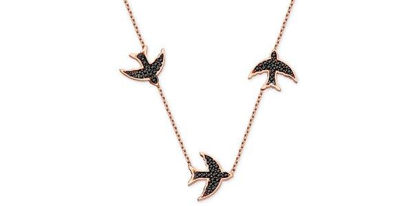 Dámský náhrdelník s vlaštovkami Elite Goby