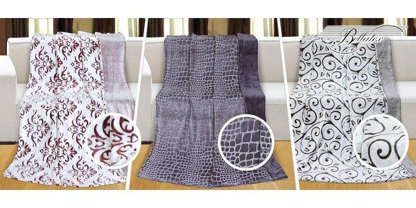 Hřejivé deky Bellatex s hustým vlasem