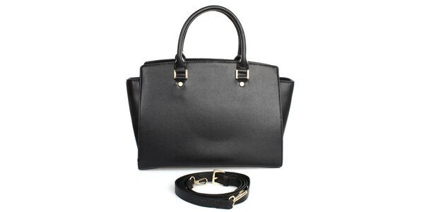 Dámská kabelka v černé barvě London fashion