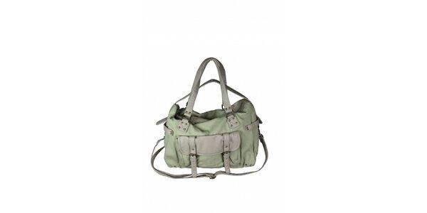 Dámská šedo-zelená taška Tantra