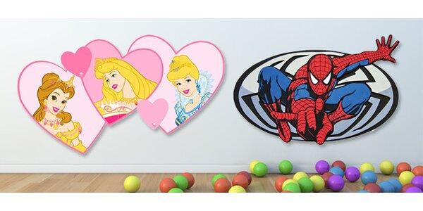 Dětská pěnová dekorace na zeď