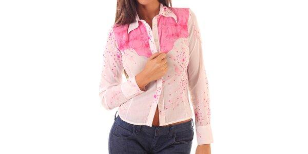 Dámská růžová košile Custo Barcelona